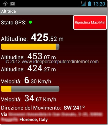 altitudine-android