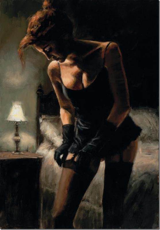 Fabian Perez 1967 - Argentine Figurative painter - Reflections of a Dream - Tutt'Art@ (3)
