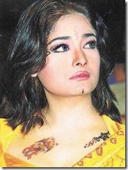 kiran-rathod-in yellow saree