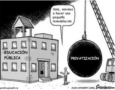 Escuela privada contra escuela pública
