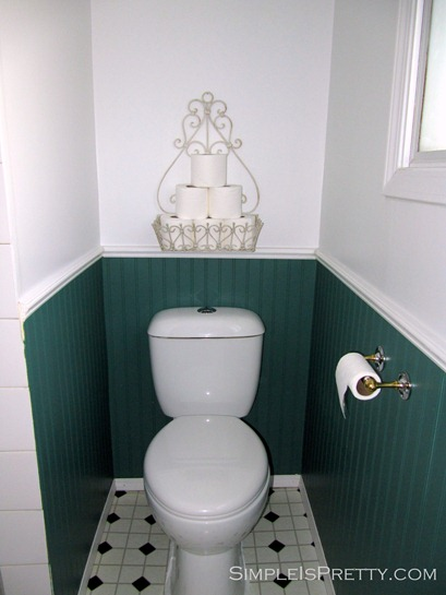 Bathroom Toilet Before