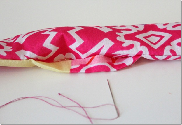 Twirly Dress Sash sewing