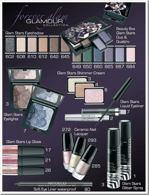 ArtDeco-Forever-Glam-Makeup-Collection-for-Holiday-2011-range