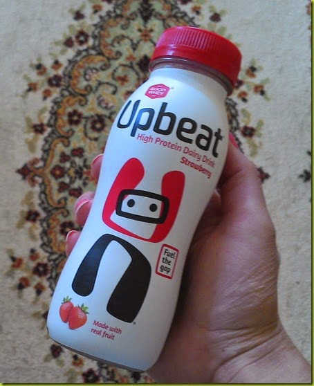 Upbeat protein drink review