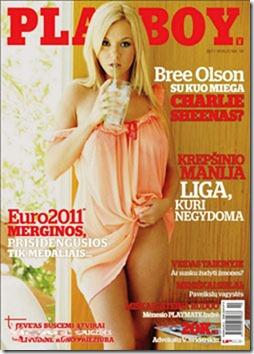 Playboy Lituania Outubro 2011