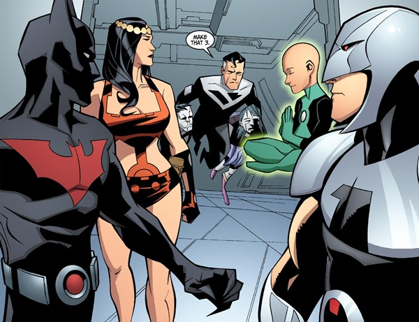 Justice League Beyond      digital TheGroup #2 - página 12