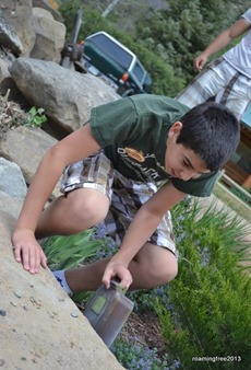 Finding the geocache