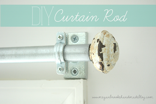 Curtains Ideas 110 inch curtain rod : 5 fabulous DIY curtain rods - Lovely Etc.