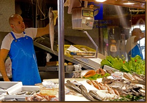 Salamanca markets fish