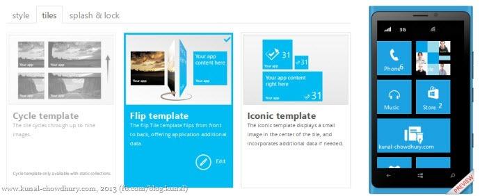 12. Configure app tiles
