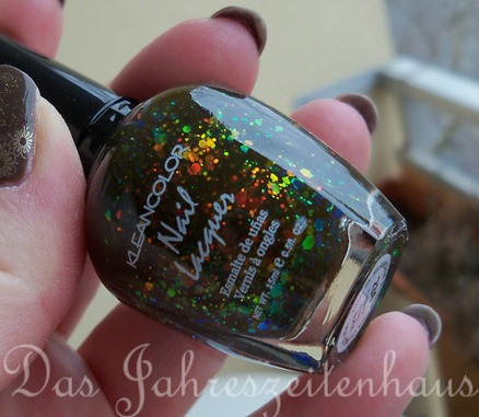 kleancolor chunky holo black design 3