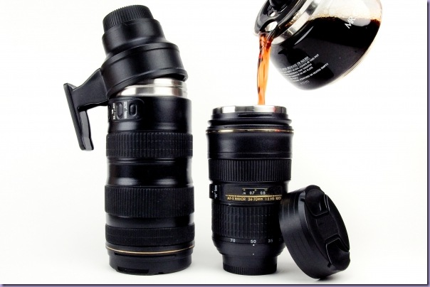 Garrafa-Térmica-Lente-Câmera-Fotográfica