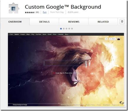 change-google-background