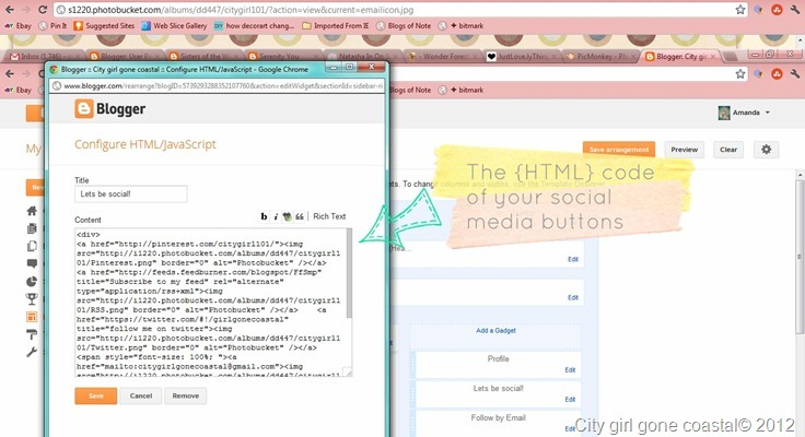 html code for social media icons