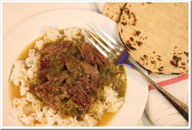 short ribs in green tomatillo sauce