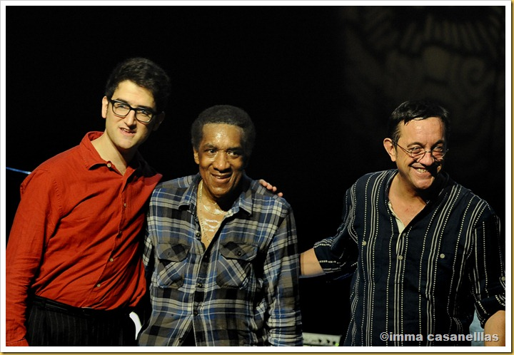 Albert Sanz, Al Foster, Javier Colina (Barcelona 2012)