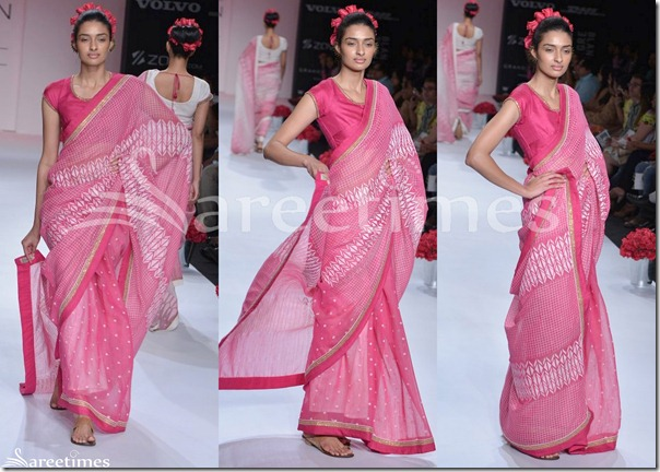 Soumitra_Mandal_Pink_Saree