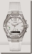 Guess Connect Watch in White with Bling