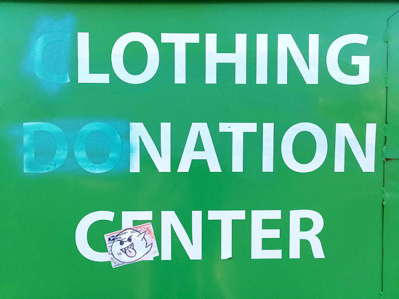 clothing donation center