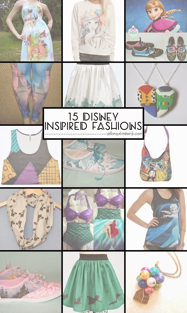 15 Disney Inspired Fashions (Fangirl Fashions ed. 32) | allonsykimberly.com