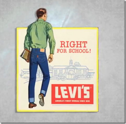 levi's right for school