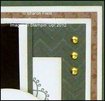 stampin pierce mat and essentials paper piercing used