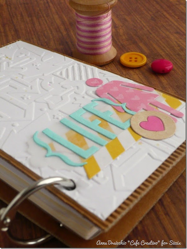 cafe creativo - Anna Drai - sizzix big shot - Mini album - mini day planner (3)