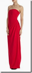 Coast Red Bandeau Maxi Dress