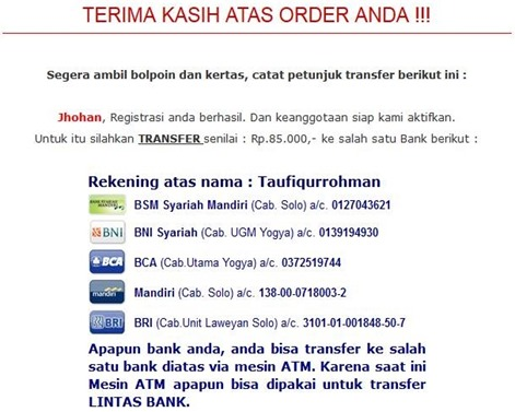data bank Transfer