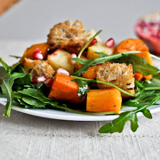 Roasted Autumn Panzanella Salad