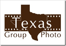 Texas group Photo logo 5 stamp