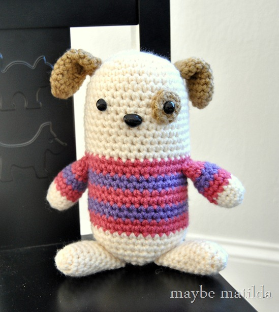 Girly Puppy Amigurumi by maybe matilda