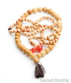 Mala beads for prayer