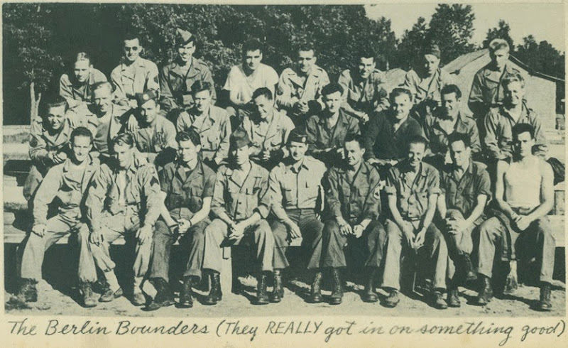 Berlin Bounders Bill Front Row 2nd from right
