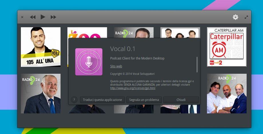 Vocal - Info