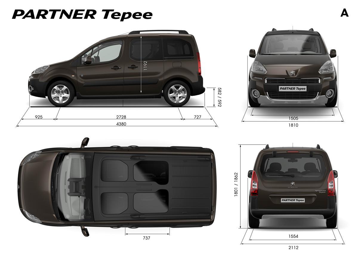 Peugeot Partner Tepee Resimleri
