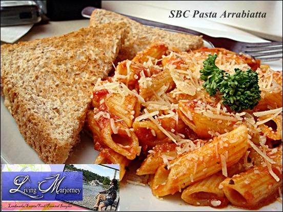 SBC Pasta Arrabbiata