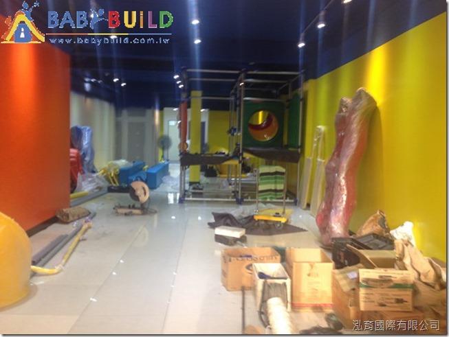 BabyBuild 室內3D泡棉鋼管遊具組裝施工
