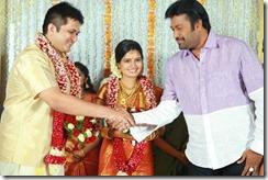 Balachandra Menon daughter Bhavana wedding still