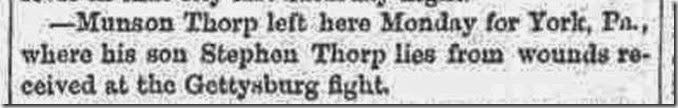 THORP_Monson to visit injured son Stephen_SkaneatelesNY Democrat_13 Aug 1863_cropped