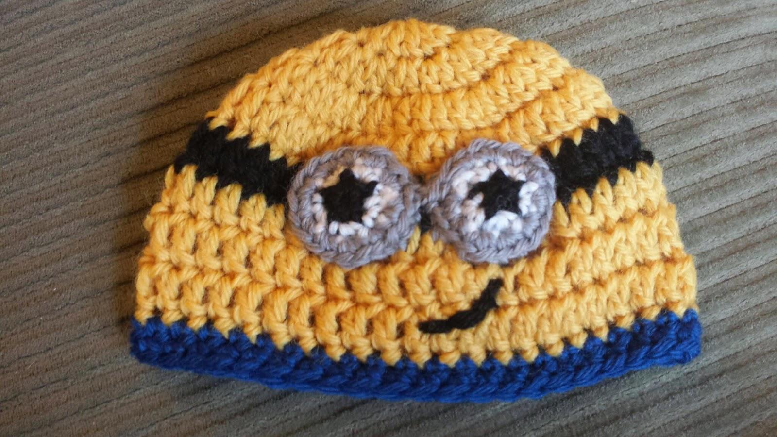 ChemKnits: Minion Newborn Hat