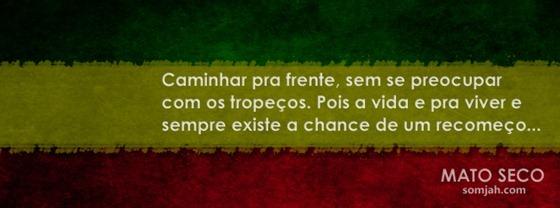 capa para facebook reggae frases banda MATO SECO
