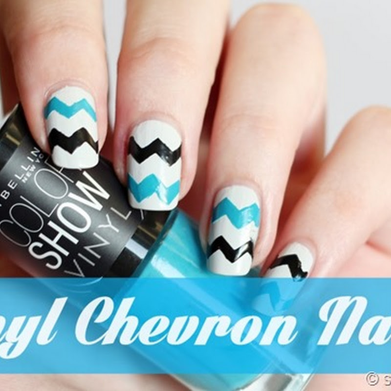 Maybelline Vinyl Chevron Nails