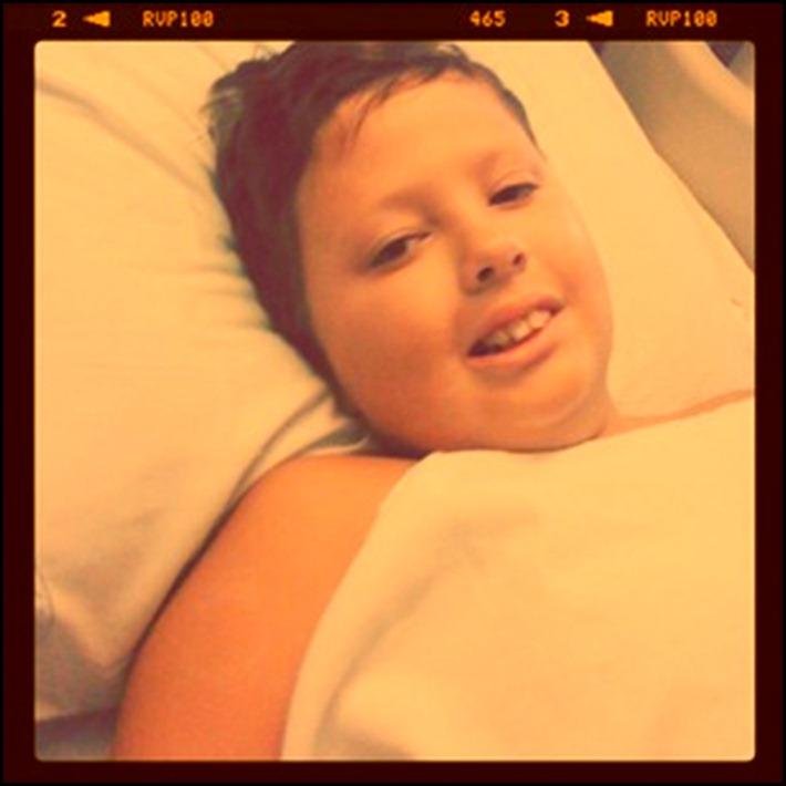 austin after surgery