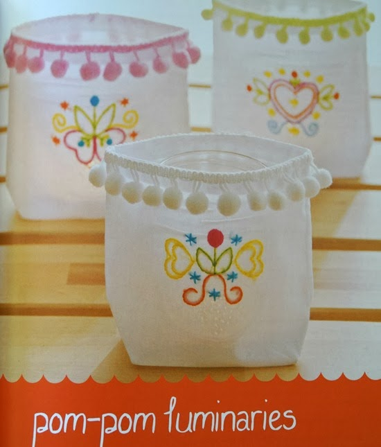 Stitched Blooms Candle Bags