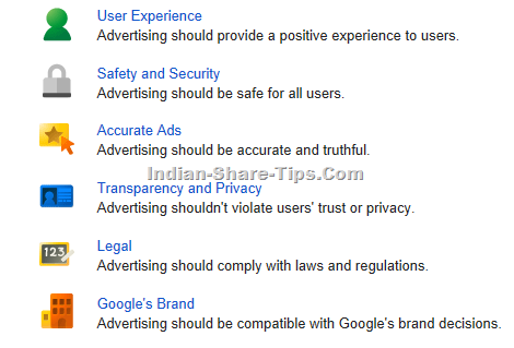 Google Adwords Policy Guidelines