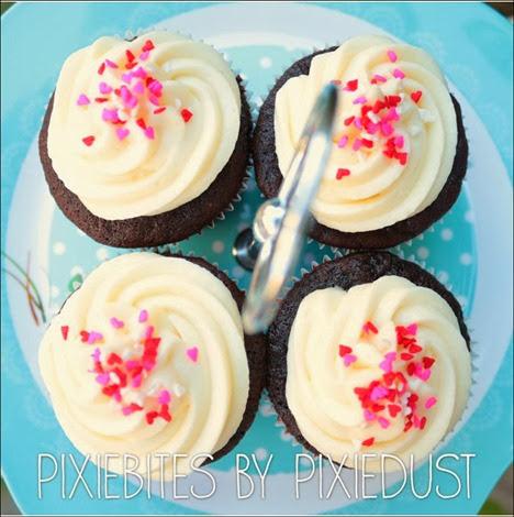 Pixie Bites, Pixie Dust, cupcakes, cookies, desserts, valentine's day, gift