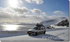 Arctic Roadtrip Erik met Dacia Logan MCV 03