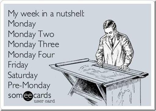 Funny-ecard-My-week-in-a-nutshell