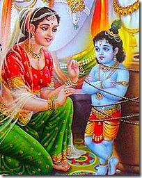 Damodara with Yashoda